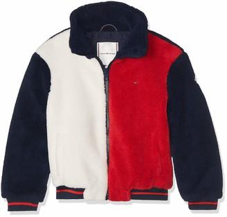 Tommy Hilfiger Girl's Tommy Teddy Bomber Jacket