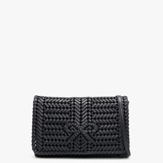 Anya Hindmarch Neeson Marine Leather Woven Cross-Body Bag