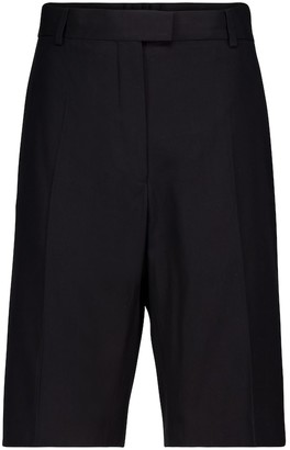 Dries Van Noten Cotton-blend Bermuda shorts
