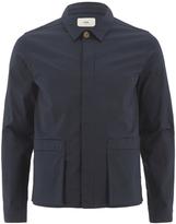 Folk Pocket Detail Jacket Navy