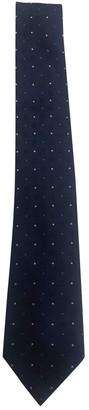 Louis Vuitton Navy Silk Ties