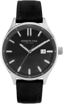 Kenneth Cole New York Classic Silvertone Strap Watch