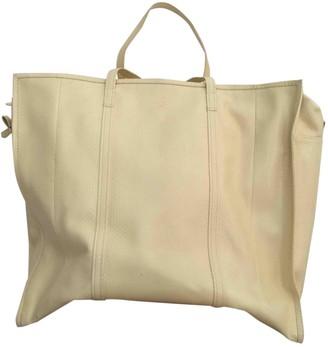Balenciaga Bazar Bag Yellow Python Travel bags