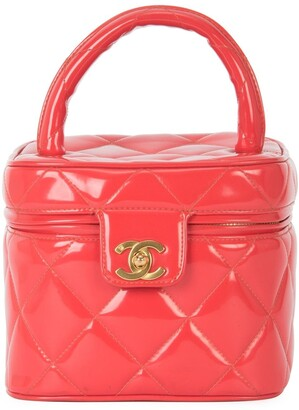 Chanel Pre-Owned 1994-1996 quilted hand vanity case