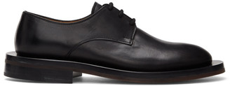 Ion Black Lace-Up Derbys