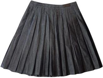 Neil Barrett Blue Denim - Jeans Skirt for Women
