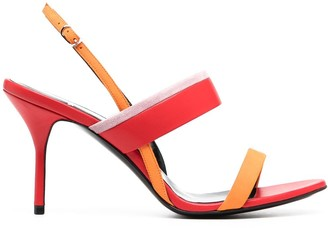 Pierre Hardy Heeled Leather Sandals