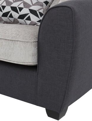 Juno Fabric Compact Standard 3 Seater Sofa