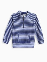 Splendid Little Boy Reverse Stripe French Terry Pullover