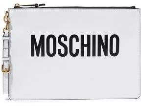 Moschino Printed Leather Pouch