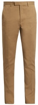 Gucci Slim-leg Cotton-blend Gabardine Chino Trousers