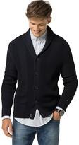 Tommy Hilfiger Textured Shawl Collar Cardigan