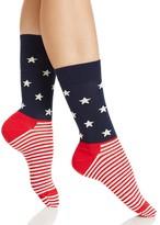 Happy Socks Stars & Stripes Trouser Socks