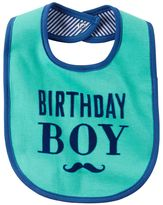 "Carter's Baby Boy Birthday Boy"" Bib"