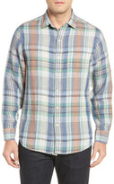Tommy Bahama Mas Regular Fit Linen Sport Shirt