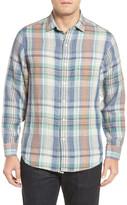 Tommy Bahama Mas Regular Fit Linen Sport Shirt