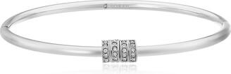 """Fossil Starter Silver Stainless Steel Charm Bracelet 2.4"""""""