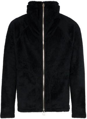 Sophnet. Fleece Zip-Up Jacket