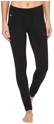 Lole Salutation Leggings (Black) Women's Clothing