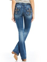 Miss Me Cross-Pocket Bootcut Jeans
