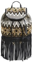 Rebecca Minkoff 'Taj' Embellished Backpack - Black