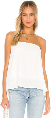 Krisa Split Back Strapless Top