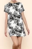 Lucy-Love Lucy Love Charlotte Palm Leaf Dress