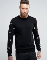 Asos Jumper With Eyelets