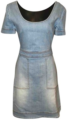Stella McCartney Stella Mc Cartney \N Blue Denim - Jeans Dresses