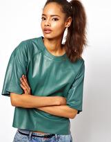 Asos Leather T-Shirt