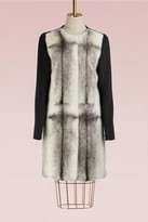 Yves Salomon Mink and cashmere long coat