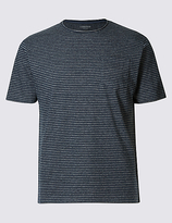 Limited Edition Slim Fit Striped Crew Neck T-shirt