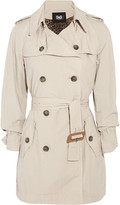 D&G Washed-cotton trench coat