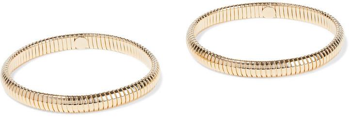 Ben-Amun Set Of Two Gold-tone Bracelets