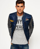 Superdry Contrast Sleeve Bomber Jacket