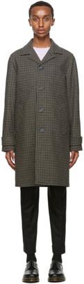Officine Generale Brown Wool Stephane Coat