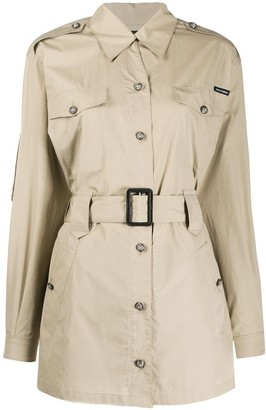 Dolce & Gabbana Short Belted Trench Coat