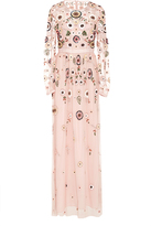 Needle & Thread Petal Pink Woodland Lace Maxi Dress