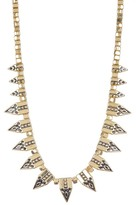 Jessica Simpson Pattern Spike & Bead Necklace