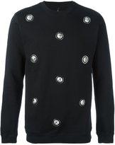 Versus lion studded sweatshirt - men - Cotton - L