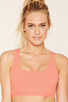 Forever 21 FOREVER 21+ High Impact - Cutout Sports Bra