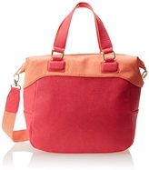 BCBGeneration Quinn The Tribute \(colorblocked\) Top Handle Bag