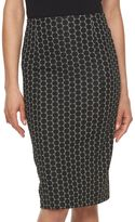 Elle Women's ELLETM Circle Pencil Skirt