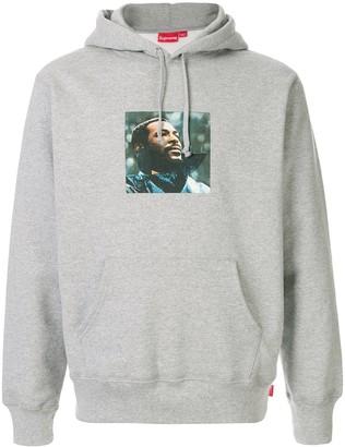 Supreme Marvin Gaye print hoodie