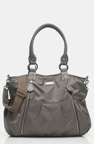 Storksak Infant 'Olivia' Nylon Diaper Bag - Grey