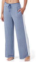 DKNY Geometric Jersey Wide-Leg Sleep Pants