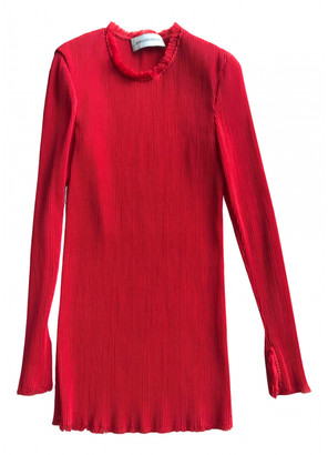 By Malene Birger Red Viscose Tops