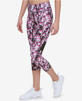 Tommy Hilfiger Printed Cropped Leggings, Only at Macy's