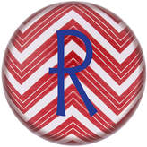 Cathy's Concepts CATHYS CONCEPTS Chevron Personalized Domed Glass Paperweight