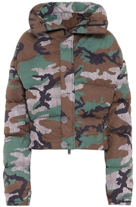 Unravel Camouflage down jacket
